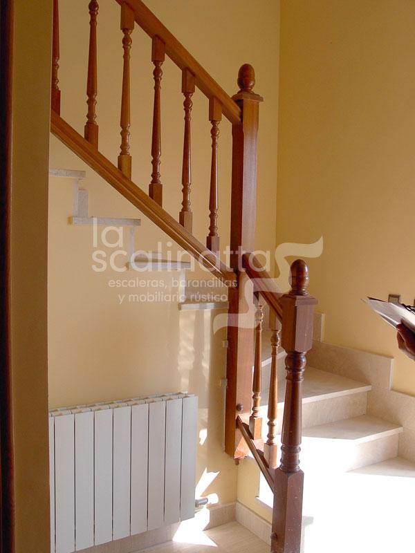 Barandillas la scalinatta escaleras barandillas - Barandillas de madera ...