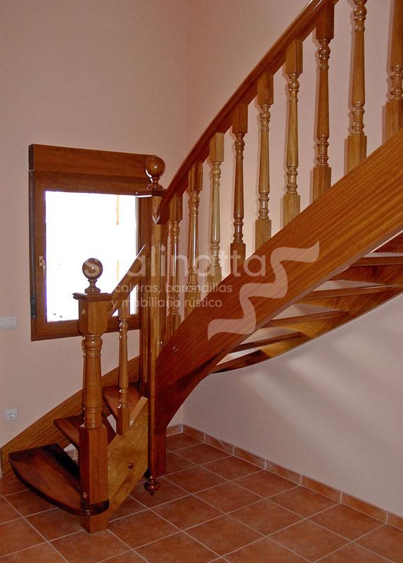 escaleras forma s